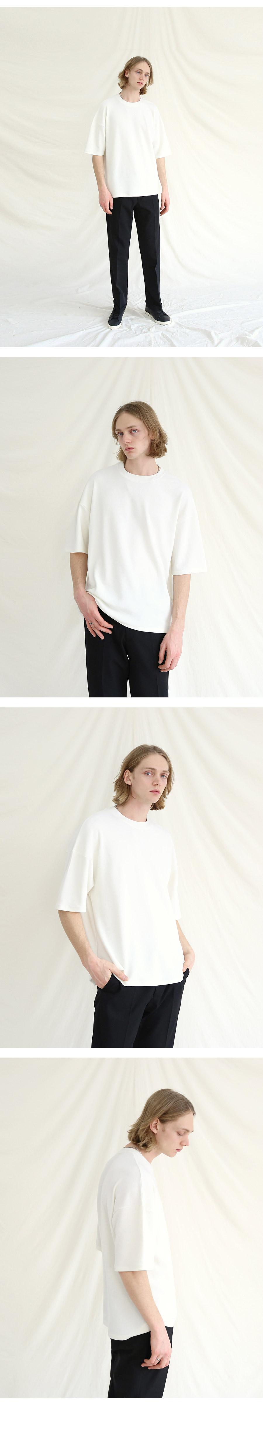 텐블레이드 (1+1) 드롭숄더 클래식 반팔티셔츠